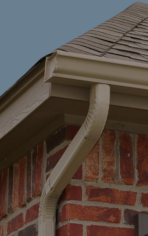 Gutter Services Home Page Background Michael S Roofing